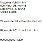 Wi-Fi only Motorola XOOM paid a visit to the FCC?