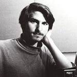 Steve Jobs working on the next-gen iPad and iPhone from his home