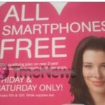 "T-Mobile's ""All Smartphones Free"" promotion is good today & tomorrow only"