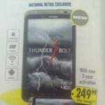 Best Buy sets $249.99 contract price for HTC Thunderbolt; displays pop up at Verizon stores