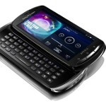 Welcome the Sony Ericsson Xperia pro - a 3.7-inch QWERTY slider