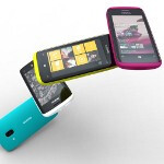 Second Nokia Windows Phone chassis flaunted at MWC, smaller and with even more colors