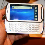 Sony Ericsson Xperia pro Hands-on