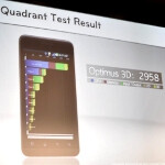 The LG Optimus 3D scores 2958 on Quadrant, Samsung Galaxy S II did