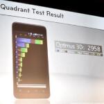 The LG Optimus 3D scores 2958 on Quadrant, Samsung Galaxy S II did