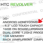 Is the HTC Revolver a Honeycomb flavored flagship smartphone for AT&T?