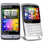 HTC handsets with the