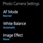 WP7 camera settings reverting back to default isn't a bug, but a feature apparently