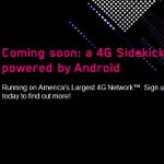T-Mo's Sidekick 4G sign-up page is live