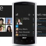 First WP Acer handsets to be launched in fall 2011
