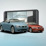 Taking a 3D image with the LG Optimus 3D