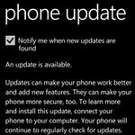 Samsung WP7 phones having problems with mini update