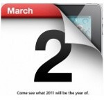 Apple sets the stage for iPad 2 announcement on March 2nd