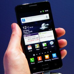 Samsung Galaxy S II coming in mid to late March for a steep price