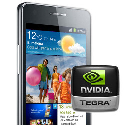 Some Samsung Galaxy S II phones will come with NVIDIA's Tegra 2 instead of Exynos