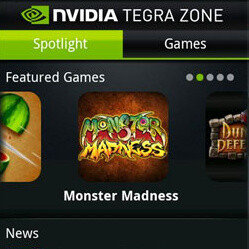 NVIDIA Tegra Zone - first impressions