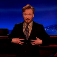 Watch Conan O'Brien's take on the Apple iP