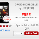Verizon announces promotion cutting all Droid prices by up to $100 for new customers only