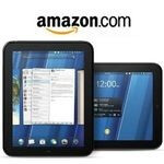 HP TouchPad listed on Amazon. You just cannot buy it yet