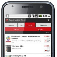 Opera Mobile Store is an app store for
