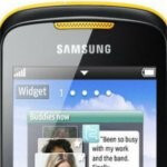 Samsung Corby II S3850 feature phone is officially set to arrive at the end of the m