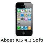 iOS 4.3 for the iPhone is delivered a couple days earlier than anticipated