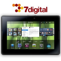 BlackBerry PlayBook to come with a music store, over 13 million tracks on board