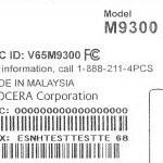 Sprint's Kyocera Echo M9300 receives its FCC certification