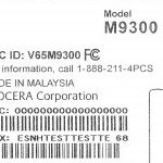 Sprint's Kyocera Echo M9300 receives its FCC certification