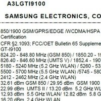 Samsung Galaxy S II receives its FCC certifications, has AT&T bands