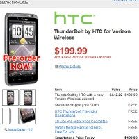 HTC ThunderBolt to arrive on March 17, first Verizon handset to support voice and data at the same time