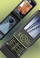 Motorola's 3G fashionable phones – KRZR K3 and RIZR Z8