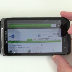 HTC ThunderBolt vs Motorola DROID X web browsing times