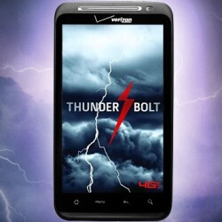 The HTC ThunderBolt strikes Verizon's web site