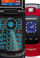AT&T (Cingular) launches Motorola V3xx and red Samsung Sync