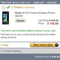 HTC Arrive to cost $149 on Amazon, to come on March 20