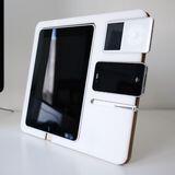 Minimalistic DIY iPhone/iPad/iPod stand combines design with practicality