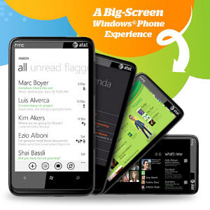 """HTC HD7S graces AT&T with an updated WP7, 4.3"""" screen"""