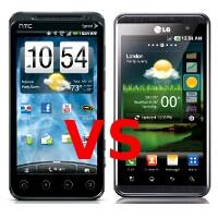 HTC EVO 3D vs LG Thrill 4G: specs comparison