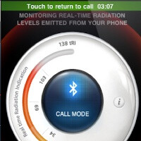 App measuring the level of radiation the iPhone emits is rejected because there is