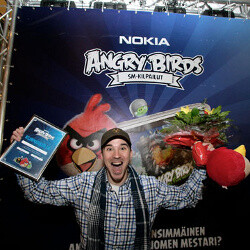 Angry Birds championship takes place in Finland, plenty of celebrities compete