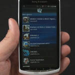 Sony Ericsson Xperia PLAY gaming software demo
