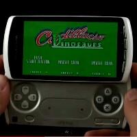 Sony Ericsson Xperia PLAY old school emulator game demo