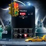 3D Holographic displays take BlackBerry marketing in Russia to a new place