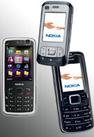 Nokia N77, 6110 Navigator and 3110 entry-level phones