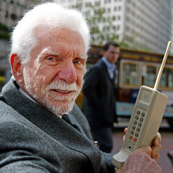 38 years have passed since the first cell phone call