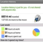 Google Maps 5.3 for Android allows you to view your location history dashboard