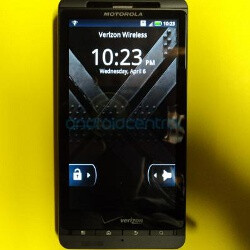 Motorola DROID X 2 poses for a new photo shoot