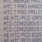 Leaked roadmap for Cellular South uncovers a listed HTC 7 Pro
