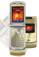 Cingular launches gold Motorola V3xx RAZR